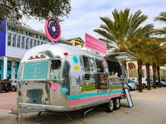 Five Daughters Bakery serves up doughnuts from their 30A location in a vintage Airstream trailer.
