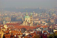 Una veduta della città di Praga