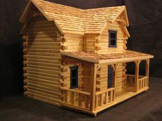 Dollhouse, Log cabin