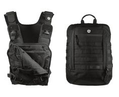 Mission Critical baby carrier and day pack- I would want it in coyote.