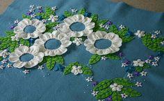 Felt embroidery work in progress   Flickr - Photo Sharing!