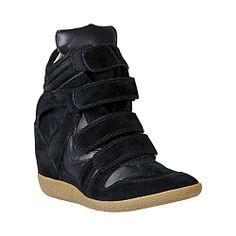 since I can't afford Isabel Marant's wedge kicks...I'm about to cop these by Steve Madden. just as cute!