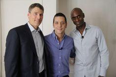 with Mayor Gregor Robertson and Lance Reddick...