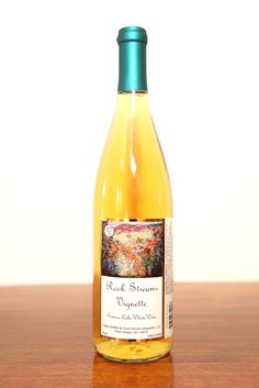 This sweet white wine is a blend of Vignoles and Traminette with notes of pineapple, pear, and honey. 8% residual sugar.
