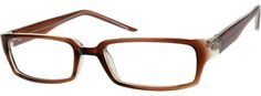 Order online, women brown full rim acetate/plastic rectangle eyeglass frames model #339615. Visit Zenni Optical today to browse our collection of glasses and sunglasses.