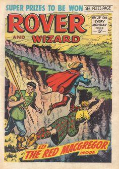 THE ROVER- WIZARD COMIC -1966..16