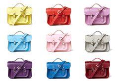 Cambridge Satchel mini bags on @gilt