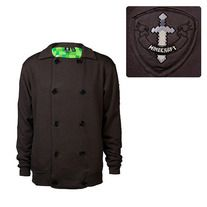 Release sometime in October Minecraft Premium Vintage Coal Fleece Jacket: Add to your Minecraft collection in a subtle, wearable way. Available in sizes XS, S, M, L, XL, XXL, XXXL, and XXXXL, the Minecraft Premium Vintage Coal Fleece Jacket is a classy, understated, warm, and very wearable piec...