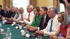 Philip Hammond and other members of Theresa May's cabinet