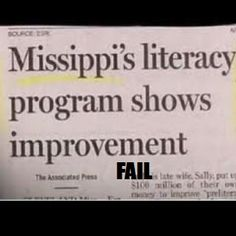 at least we know why they need the literacy program...