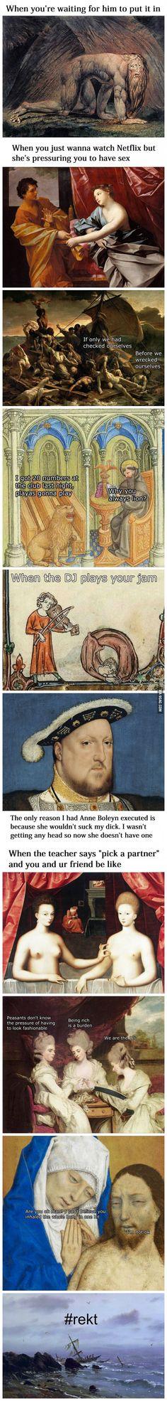 Classical Art Memes Latest (Part-2)