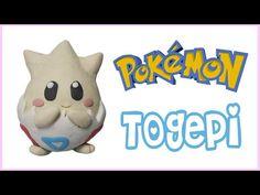Pokémon Togepi Figurine air dry clay / polymer clay tutorial