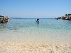 Mittags am Strand - Camping Poljana