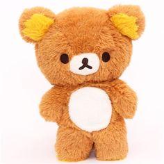 Rilakkuma brown teddy bear plush toy by San-X - Plush Toys - Stationery - kawaii shop modeS4u
