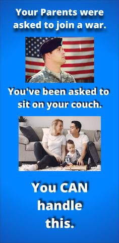 Your parents were asked to go to war. You were asked to sit on the coach. You can handle this. Really Funny, The Funny, Humorous Pictures, Funny Jokes, Funny Humour, Good Humor, Invite Your Friends, Healthy Tips, Laughter