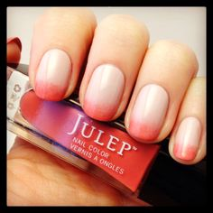Pink nails for spring! Using @Julie Pritchard Paige & Veronica