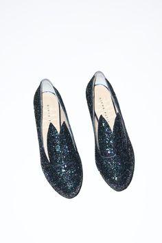 Minna Parrika Hare Heel in Dark Glitter- Now on Sale | No.6 Daily