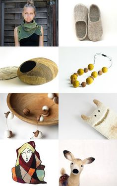 Fabulous Felt- A Gift Guide  --Pinned with TreasuryPin.com
