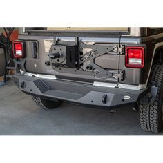 DV8 Offroad RBJL-06 Rear Bumper for 18-19 Jeep Wrangler JL | Quadratec