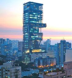 Antilia, sits on Mumbai's tony Altamount Road and cost an estimated $1 billion to build. 5