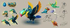 Bird Island on Behance
