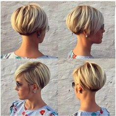 "3,507 Likes, 29 Comments - Short Hairstyles   Pixie Cut (@nothingbutpixies) on Instagram: ""A pixie 360 by @lavieduneblondie"""