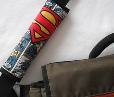 Superman Seat Belt Cover by ComfyAccessories on Etsy https://www.etsy.com/shop/ComfyAccessories?page=6