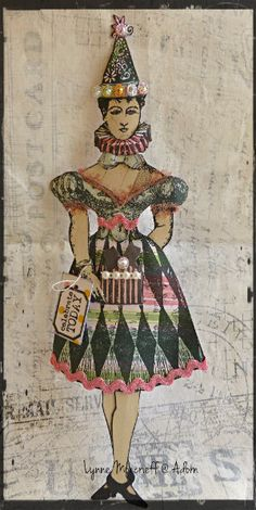 Character Constructions paper doll - published in The Stampers' Sampler (by Lynne Moncrieff)