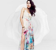 Maxi Floral dress @Costa Blanca  #CBfallspree #CostaBlanca