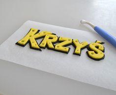 CAKEroom.pl - Spongebob font tutorial