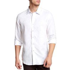 NEW Robert Graham Dress Shirt Paisley Floral XXL White 2XL    eBay