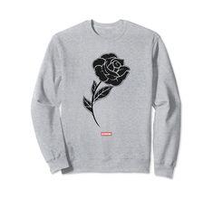 Genuine By Anthony Black Rose Sweatshirt Amazon Prime Delivery, Graphic Sweatshirt, T Shirt, Custom Clothes, Make Money Online, Man Shop, Blockchain, Cryptocurrency, Sweatshirts