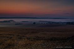 https://flic.kr/p/z6rCuS | Morning Fog in Germany | Deutsche Landschaft am Morgen mit Nebel.