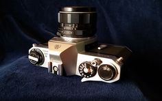 Pentax Spotmatic II with Super-Multi-Coated TAKUMAR 1:1.8/55 lens.