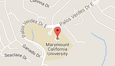 Map of marymount california university