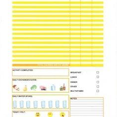 Food journal | Free sweet Printables