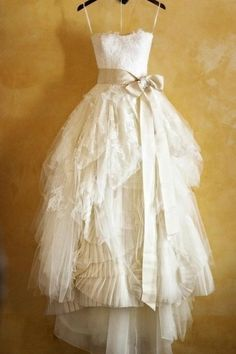 Princess Spaghetti Straps Ruffles Ivory Ball Gown Tulle Wedding Dress With Sash Wedding Dresses Sleeveless Wedding Dress Ivory Wedding Dress Ball Gown Wedding Dress Wedding Dress Lace Wedding Dresses 2018 White Lace Wedding Dress, Wedding Dress Sash, Wedding Dresses With Straps, Wedding Dresses 2018, Tea Length Wedding Dress, Cheap Wedding Dress, Bridal Dresses, Tulle Wedding, Dress Lace