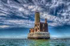 Waugoshance Lighthouse- Northern Lake Michigan