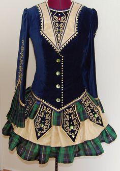custom made irish dance costume - Irish Dancer Halloween Costume