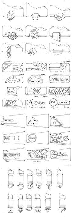 Glove trim ideations.  Dakine 2004