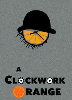 A Clockwork Orange print by Minimal Prints at Habitat