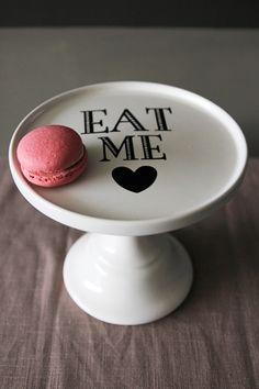 Eat Me Ceramic Cake