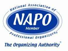 Proud member of the National Association of Professional Organizers-GPC!