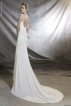 Blush Bridal has an extensive collection of wedding dresses from Pronovias, including Olimpia. Click here for more information!