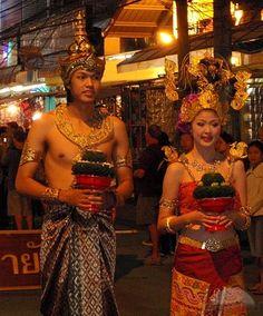 Traje tradicional  #tailandia