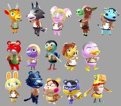 Attack on Animal Crossing by Kurohe-86.deviantart.com on @deviantART
