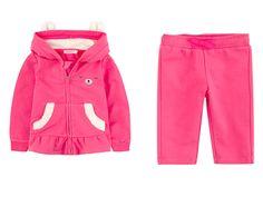 Jogging velours  #baby #girl #pink #billieblush #boutique #shopping