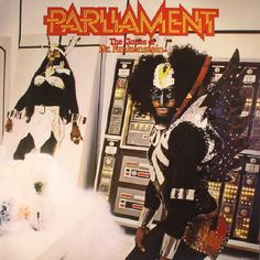 The artwork for the vinyl release of: Parliament - The Clones Of Dr Funkenstein (reissue) (Mercury) #music SoulJazz