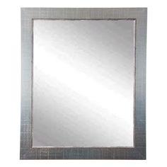 Designers Choice Antique Silver Wall Mirror