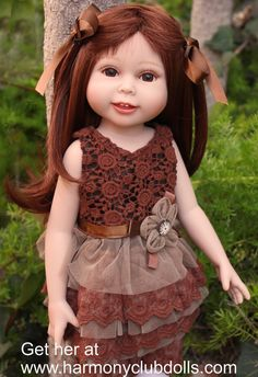 "Shop 18 inch dolls at Harmony Club Dolls <a href=""http://www.harmonyclubdolls.com"" rel=""nofollow"" target=""_blank"">www.harmonyclubdo...</a>"